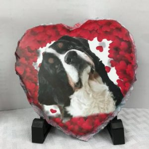 Slate Heart 6″x 6″