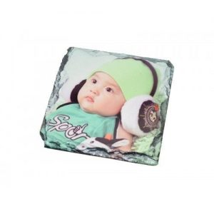 "4"" Sublimation Slate Coaster Square (SLATE48)"